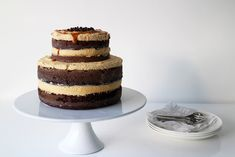 Chocolate, Coffee & Caramel Layer Cake | 23 Incredible Coffee Desserts