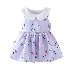 >> Click to Buy << Mooistar #3069 Cute Toddler Baby Girl Sleeveless Floral Printed Dress Child Dress Clothes Dress Baby girl clothes #Affiliate