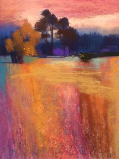 Festival by Susie Prangnell - pastel