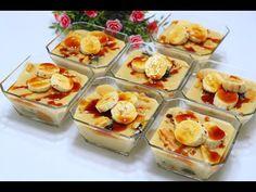 ب 4 مكونات فقط حضري اطيب تحلية باردة بدون بيض وبدون كريمة بدون نشا تحلية باردة في كاسات بالموز Youtube Food Mini Cheesecake Breakfast