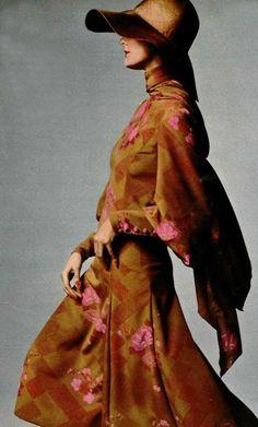 Fashion for L'officiel magazine, 1970s