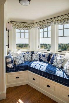 cozy in blue...
