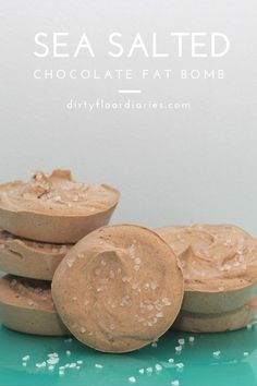 sea salted chocolate fat bombs & the best vitamins to take for women