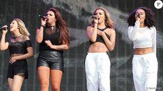 Perrie Edwards, Jesy Nelson, Jade Thirlwall et Leigh-Anne Pinnock du groupe Little Mix lors du British Summer Time Festival au Hyde Park à Londres, le 13 juillet 2014.
