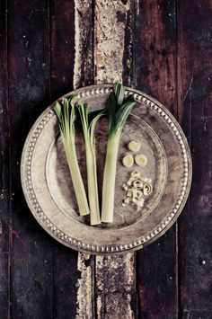 Food Photography, Leeks Photo, Black and White Photography, Still Life, Rustic, Kitchen Wall Decor, Fine Art Photography, Vegetable Photo by StephanieSchamban on Etsy