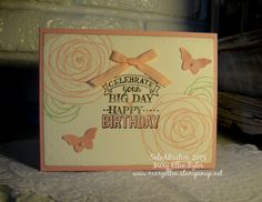 Created using items you can earn for FREE during Sale-A-Bration! Learn more at www.stampinup.com.