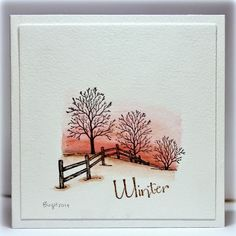 Winter scene (via Bloglovin.com )