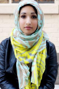 Animal Print scarves, Hijabis, Modest Fashion