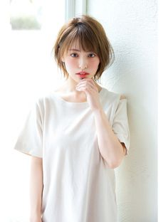 Asian Short Hair, Short Wavy Hair, Shot Hair Styles, Anime Hair, Cute Hairstyles, Medium Hair Styles, Cute Dresses, Dresses Online, Trendy Fashion