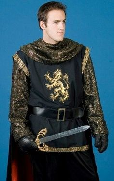 deluxe medieval renaissance knight costume, $119.99    #medieval #renaissance #knight #joust