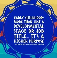 Preschool Procedures, Early Childhood Quotes, Keynote Speakers, Job Title