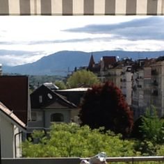 View for breakfast Geneva style