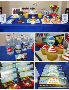 Tayo the Little Bus Party Set  Tayo Birthday by LetsPrintAParty