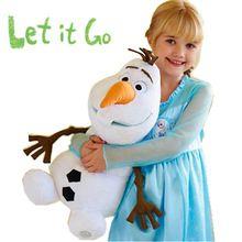 Olaf Brinquedos de pelúcia boneca 50 CM 30 CM Brinquedos de peluche pelúcia Olaf pelúcia boneco de neve meninos meninas criança presente de natal(China (Mainland))