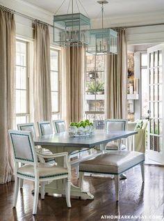 Elegant light filled formal dining room