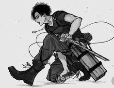 Levi - Attack on Titan 5 Anime, Fanarts Anime, Anime Guys, Anime Characters, Levi Ackerman, Attack On Titan Fanart, Attack On Titan Levi, Ereri, Levihan