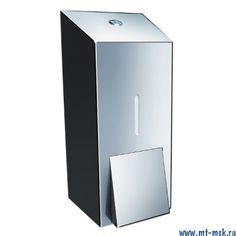 Дозатор жидкого мыла металлический Merida Stella MAXI DSP101
