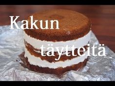 Sokerimassa Kakku Täyte Vanilla Cake, Tiramisu, Ethnic Recipes, Desserts, Food, Tailgate Desserts, Deserts, Essen, Postres