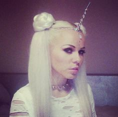 Silver Unicorn Horn Circlet by FireflyPath on Etsy