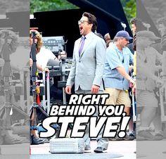 robert downey jr. robert downey jr tony stark The Avengers Chris Evans Steve Rogers avengers superhusbands stevetony tonysteve