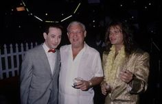 Pee-Wee Herman and Rodney Dangerfield (with David Lee Roth)