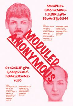 moduled anonymous poster by kimoon kim