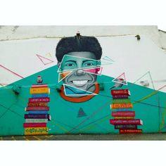 "189 curtidas, 1 comentários - @walk_in_walls no Instagram: ""Artist: Coletivo Brasil  Torres Vedras, Portugal  #streetart #streetartorresvedras…"""
