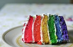 rainbow Vegetable cake, really delicious #food and drink