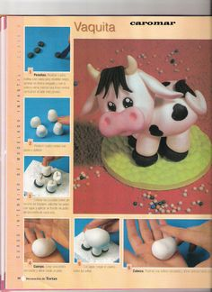 Cow part 1, also would work for clay