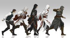 A evolução de Ezio Audittore