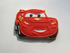 The inspiration for the Lightning McQueen cookies I did.