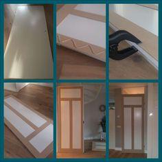 Een aantal maanden geleden schreef Maris op haar blog over een binnendeur die zij voor pak 'em beet 20 euro veranderde van simpele binnendeur naar paneeldeur. Ik was gelijk razend enthousiast…