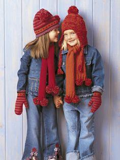 Picot Edge Set and Easy Helmet | Yarn | Free Knitting Patterns | Crochet Patterns | Yarnspirations