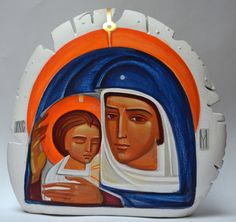 Maria Leginovych - Virgin Mary with baby Jesus