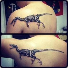 Posable dinosaur tattoo 3d Tattoos, Tribal Tattoos, Cool Tattoos, Tatoos, Nerdy Tattoos, Crazy Tattoos, Heart Tattoos, Badass Tattoos, Awesome Tattoos