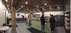 Transcend Coffee in Edmonton, AB http://www.transcendcoffee.ca/mercer/ http://mercerwarehouse.com/contact/