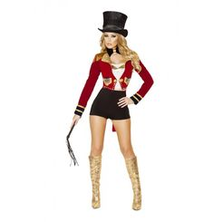 Pc Seductive Circus Leader Costume Ami Clubwear - Pc Seductive Circus Leader Costume Includes Top High Waist Shorts Jacket With Rhinestone Detail Hat Bow Tie And Whip Polyester Style Costume Sexy Jj Circusleader This Item Is Final Sa Adult Costumes, Costumes For Women, Dance Costumes, Halloween Costumes, Buy Costumes, Halloween Circus, Women Halloween, Usa Costume, 1960s Costumes
