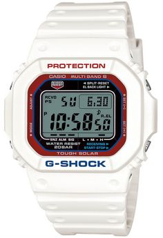 G-Shock GW-M5610TR-7JF White Tricolor Series-1
