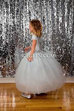 Just what you had in mind for that evening wedding ? 👗Flower Girl Dress Style 922 Silk, tulle, glitter tulle Embroidered flowers, rhinestones Tulle Skirt, 60 Colors (choose glitter color) 200+ Colors of silk for skirt Sleeve Choices, Infant to Plus Sizes Includes crinoline . . #flowergirldress #pegeen #flowergirl #flowergirls #pegeendotcom #wedding #girlsdresses #girlsdress#couturekids #kidscouture #girlscouturedress #flowergirlstyle #kidsfashion #luxurykids #childrenswear #jewishwedding