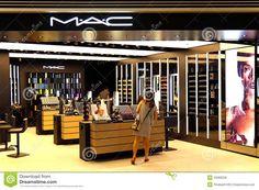 Mac Cosmetics Store Display Mac cosmetics outlet editorial