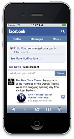 Facebook Is About To Eat Your Phone = BLOWING UP on Twitter and Scoop.it. Apparently this headline touched a nerve. Marty