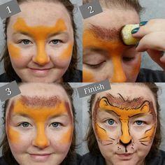 Lion Tutorial - perfect for little wiggly ones!