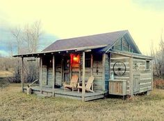 Cozy cabin: This historic small home plucked from Yellowstone National Park and moved to Livingston, Montana, may have once housed President John F. Kennedy