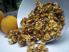 Date sweetened granola recipe. No sugar. No honey. Gluten free, dairy free, soy free