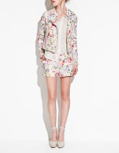 Zara's TRF Printed Blazer  I'm dying over blazers this season (in case you lot couldn't tell).