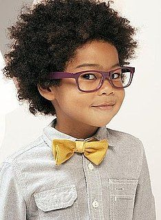 tie is a little offset and it couldn't be more perfect. Cute.