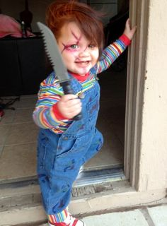 This is funny.. However, There's something very unsettling to me about a child holding a toy weapon of any kind..