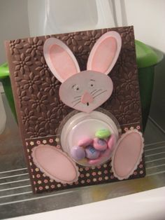 Stampin' Up!  Ornament Punch  Glenda Adair  Easter Bunny
