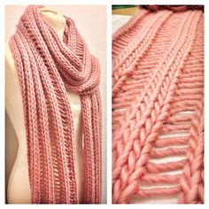 Bored of the usual knit and purl scarves? try our Drop Lay Scarf Kit which requires purposely dropping a few stitches to create ladder effect! All need to DIY. All natural yarn and bamboo needles.
