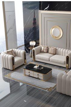 Sofa Furniture, Luxury Furniture, Furniture Design, Fireplace Furniture, Furniture Ideas, Living Room Sofa Design, Living Room Designs, Modern Sofa Designs, Luxury Sofa